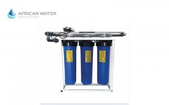 African Water Purification 3 Stage Big Blue with 55 Watt UV