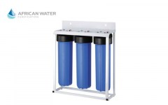 African Water Purification 3 Stage Big Blue with Floor Standing Bracket